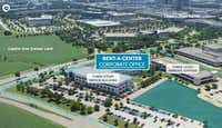 The Rent-A-Center campus is on 17 acres.(CBRE)