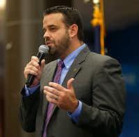Dallas City Council member Adam McGough(Rose Baca/2017 File Photo)