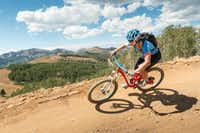 """<p>Mountain biking is a popular activity in Park City, Utah. The region boasts&nbsp;<span style=""""font-size: 1em; background-color: transparent;"""">panoramic loops and technically challenging downhill trails.</span></p>(Eric Schramm/Visit Park City)"""