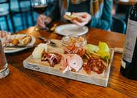 Bin 22 in Jackson Hole, Wyo., offers Tuscan-esque small plates and plenty of drink options.(Visit Jackson Hole)
