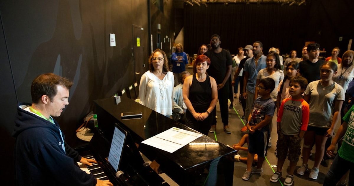 Public Works Dallas creates 'the people's theater' starring 200 regular folks from the community...