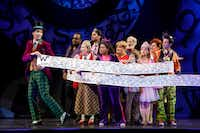 <i>Charlie and the Chocolate Factory</i>, which runs at the Winspear Opera House in Dallas from Aug. 22-25, draws inspiration from the 1971 movie starring Gene Wilder.&nbsp;(Joan Marcus)