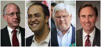 """<p><span style=""""font-size: 1em; background-color: transparent;"""">Four Texas Republicans in Congress recently announced that they would not seek reelection next year: from left, Rep. Mike Conaway of Midland, Rep. Will Hurd of San Antonio, Rep. Kenny Marchant of Coppell and Rep. Pete Olson of Sugar Land. (AP Photo/Susan Walsh; AP Photo/Eric Gray; Virginie LeFour/Belga/Zuma Press/TNS; Austin American-Statesman/TNS)</span></p>"""
