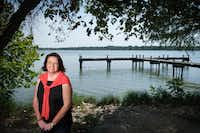 Dallas City Council member Paula Blackmon photographed at White Rock Lake on Friday, Aug. 9, 2019, in Dallas. (Smiley N. Pool/The Dallas Morning News)(Smiley N. Pool/Staff Photographer)