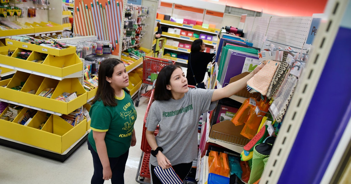 It's tax-free weekend in Texas: What's exempt on the state shopping list for 2019...