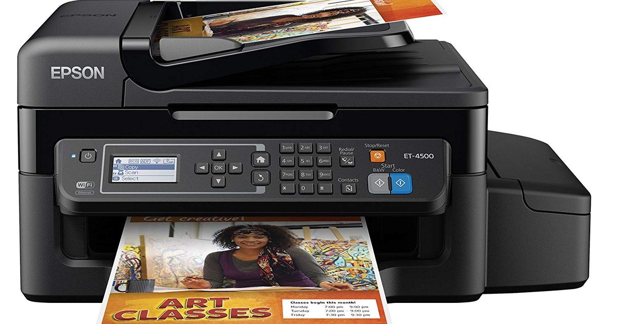 Regular use is the best way to keep your inkjet printer happy and clean...