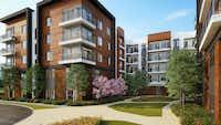 <p>The Jefferson Innova apartments will open in 2021 in Las Colinas.</p>(JPI)