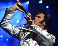Kraig Parker will join the Fort Worth Symphony for a tribute to Elvis Presley on Nov. 5 at Bass Hall.(Kraig Parker)