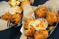 Texas Cream Corn Casserole Fritters(Lynda M. Gonzalez/Staff Photographer)