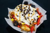 Deep-Fried Bayou Fruit Bites(Lynda M. Gonzalez/Staff Photographer)