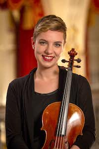 Meredith Kufchak, the new principal violist for the Dallas Symphony Orchestra.(Edward DeArmitt/Pittsburgh Symphony Orchestra)