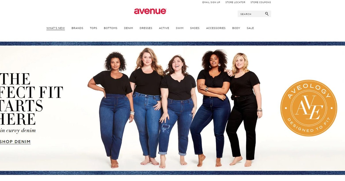 Women's plus-sized retailer Avenue closing all its stores including 30 in Texas...
