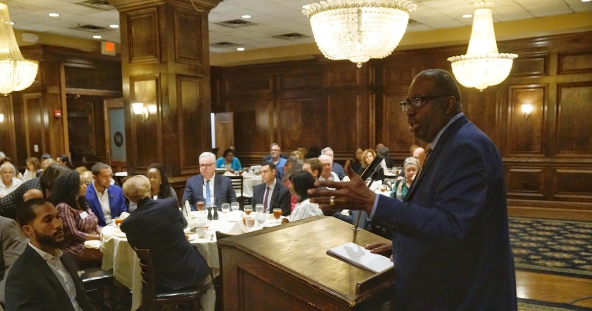 Royce West touts political experience for Senate primary in appeal to Dallas Democrats...