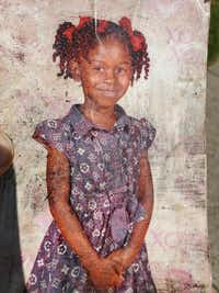 A photo of 9-year-old Brandoniya Bennett. She was killed when someone fired into an apartment in Old East Dallas in a gang-related shooting, police say. (Handout photo)