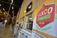 Signage inside Taxco Produce in Dallas on Thursday, Aug. 15, 2019.(Ben Torres/Special Contributor)