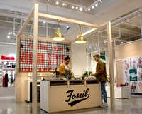 Fossil opened a temporary space in Neighborhood Goods at Plano's Legacy West.(Neighborhood Goods/Neighborhood Goods)