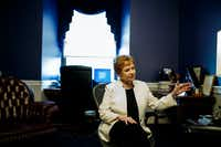 Congresswoman Kay Granger (R-TX 12) speaks during an interview in her office on Capitol Hill on July 26, 2019 in Washington, District of Columbia. (Ting Shen/ Special to The Dallas Morning News)(Ting Shen/Special Contributor)