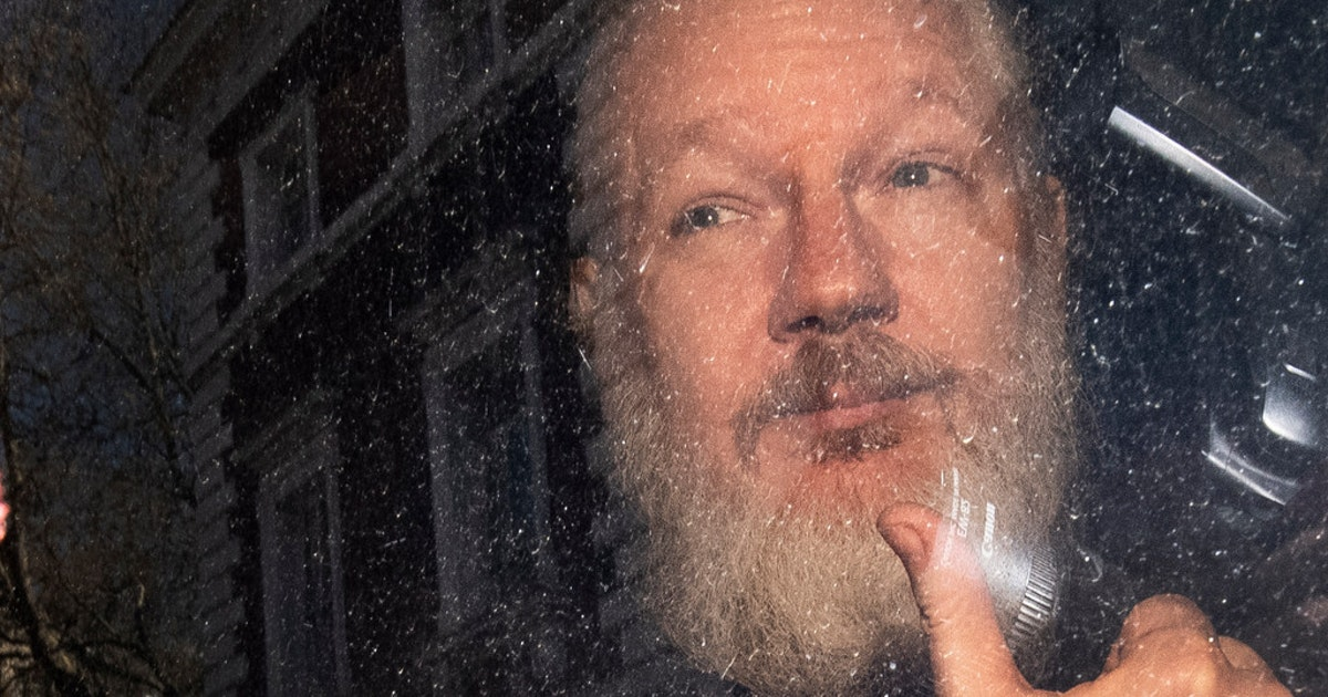 Don't try Julian Assange under the Espionage Act...