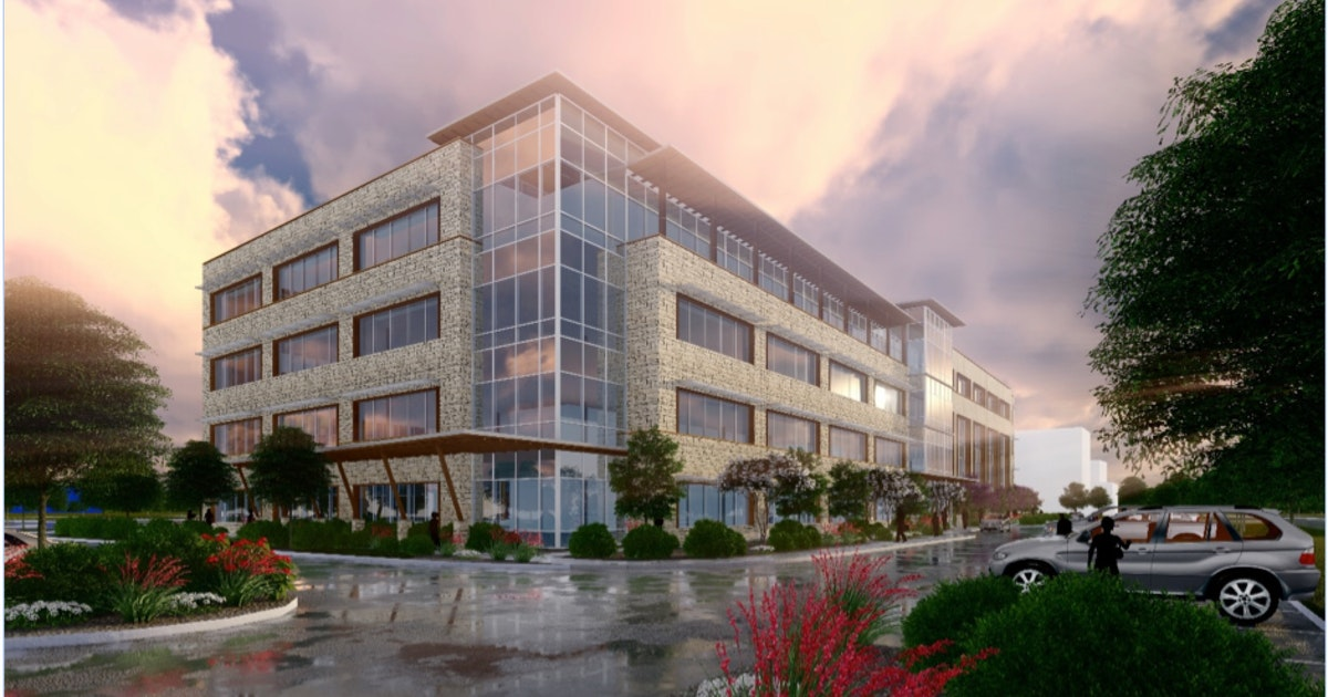 New Grand Prairie office building is part of mixed-use project...