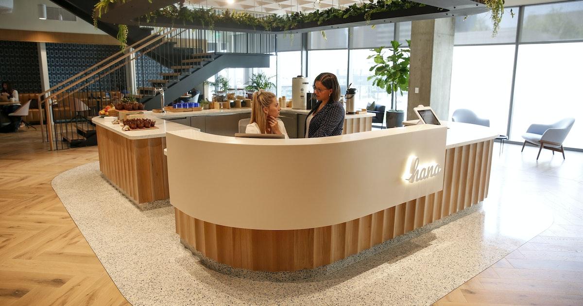 No pingpong here: CBRE's plush Hana shared office has sleek design, lots of flexibility...