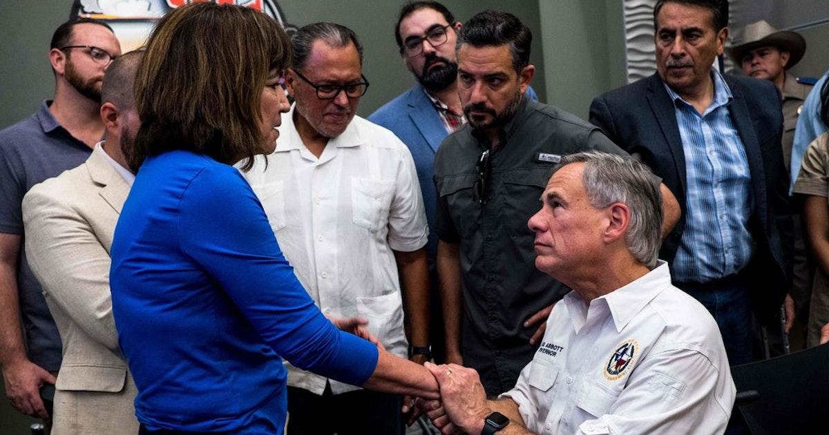 After mass shooting, El Paso Democrats blast Texas Gov. Abbott for 'dangerous' tweet...
