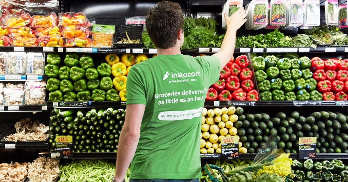 Instacart reverses H-E-B as an online grocery option from many Dallas area Zip codes...