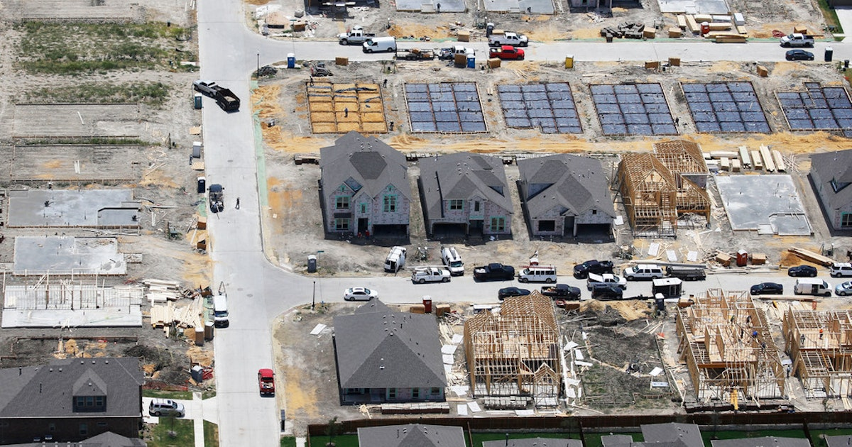 Continuing construction worker shortages could pose a threat to economic development in Texas...