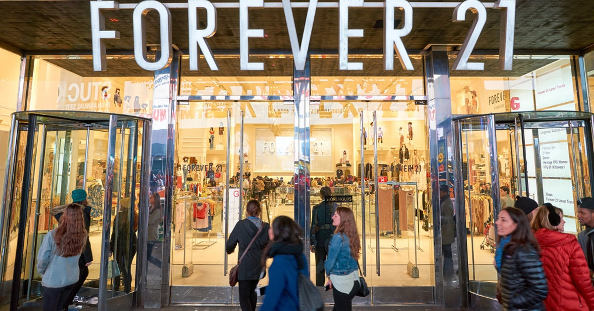 Report: Forever 21 prepares for potential bankruptcy filing...