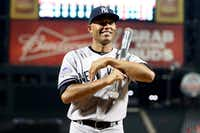 Closer Mariano Rivera, the All-Star MVP, is an emissary for the game — and for his team, the beloved and yet hated New York Yankees.(Kathy Willens / The Associated Press)
