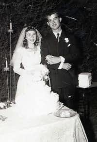Margaret and Jim Smith in 1952.Family photo