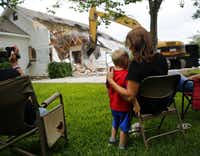 Lawmakers say they're trying to prevent disasters like the West blast that damaged or destroyed scores of homes. Two months ago, Trish Webre and 3-year-old Tracen Beheler watched the razing of Webre's unsalvageable home.