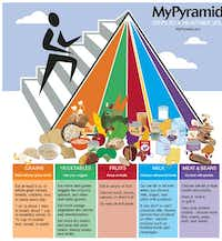 In 2005, the government introduced the My Pyramid Food Guidance System, which included a band for oils and introduced the concept of physical activity.(USDA)