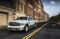 The 2013 Ram Laramie Longhorn has a 5.7-liter V-8 engine and an eight-speed transmission that neither Ford nor Chevy offers.