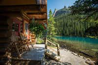 The cabins at Lake O'Hara Lodge offer sweeping views of the lake and the mountains in Yoho National Park in Canada's Rocky Mountains.(Paul Zizka Photography)