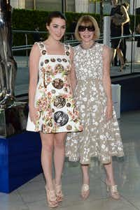 Vogue editor Anna Wintour, right, and her daughter Bee Shaffer arrive at the 2014 CFDA Fashion Awards held at Alice Tully Hall, Lincoln Center, on Monday, June 2, 2014, in New York. (Photo by Evan Agostini/Invision/AP)Evan Agostini - Evan Agostini/Invision/AP