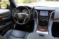 Refinement defines the 2015 Cadillac Escalade's new interior, giving it a much higher-end feel than its predecessors.( Richard Prince  -  rprincephoto.com )