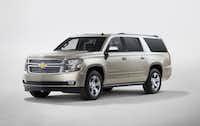 The 2015 Chevrolet Suburban.