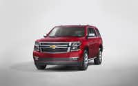 The 2015 Chevrolet Tahoe.