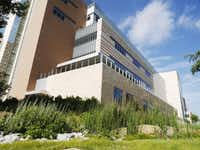 The $41 million UT-Arlington has received from the Permanent University Fund since 2009 helped build a new engineering research complex.(Ron Baselice - Staff Photographer)