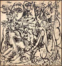 Jackson Pollock's Echo: Number 25, from 1951, is Delahunty's favorite Pollock work.(Museum of Modern Art - Museum of Modern Art)
