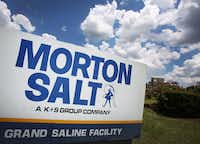 The Morton Salt Mine  in Grand Saline is the town's largest employer and one of three rock-salt mines Morton operates in the U.S. The salt deposit is 250 million years old.(Louis DeLuca - Staff Photographer)
