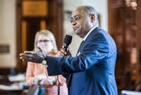 "Sen. Rodney Ellis criticized the bill Friday as ""one of the worst things we could do in Texas,"" but outnumbered Democrats offered only token opposition.(Ashley Landis - Staff Photographer)"