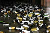 NAPA, CA - AUGUST 24:  Bottles of olive oil and vinegar sit on the floor of a business damaged by a reported 6.0 earthquake on August 24, 2014 in Napa, California.  A 6.0 earthquake rocked the San Francisco Bay Area shortly after 3:00 am on Sunday morning causing damage to buildings and sending at least 70 people to a hospital with non-life threatening injuries.Justin Sullivan - Getty Images