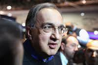 DETROIT, MI - JANUARY 13:  Sergio Marchionne, Chairman and CEO of Chrysler Group LLC, fields questions following Chrysler's introduction of the 2015 Chrysler 200 at the North American International Auto Show (NAIAS) on January 13, 2014 in Detroit, Michigan. The auto show opens to the public January 18-26.  (Photo by Scott Olson/Getty Images)(Scott Olson - Getty Images)
