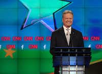 Jim Webb didn't last long as a Democratic presidential candidate but may be ready to rejoin the race as an independent. (Photo by Joe Raedle/Getty Images)