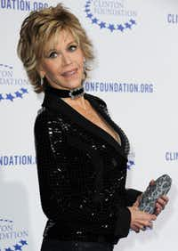 Jane Fonda says one of the most important thing as you age is not to become sedentary.