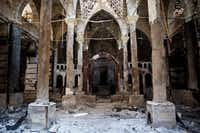 The Amir Tadros Church in Minya, Egypt, about 250 kilometers south of Cairo. The church was set ablaze on Aug. 14.