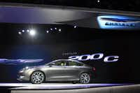 The Chrysler 200C is  introduced at the 2014 North American International Auto Show in Detroit, Michigan, January 13, 2014. AFP PHOTO/Geoff RobinsGEOFF ROBINS/AFP/Getty ImagesGEOFF ROBINS - AFP/Getty Images