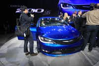 The Chrysler 200S is introduced at the 2014 North American International Auto Show in Detroit, Michigan, January 13, 2014. AFP PHOTO/Geoff RobinsGEOFF ROBINS/AFP/Getty Images(GEOFF ROBINS - AFP/Getty Images)