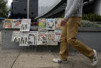 View of the covers of Mexican newspapers in Mexico City on Sunday after Mexican drug trafficker Joaquin Guzman Loera was arrested by Mexican marines. Guzman is the Sinaloa cartel leader and the most wanted by US and Mexican anti-drug agencies.(ALFREDO ESTRELLA - AFP/Getty Images)